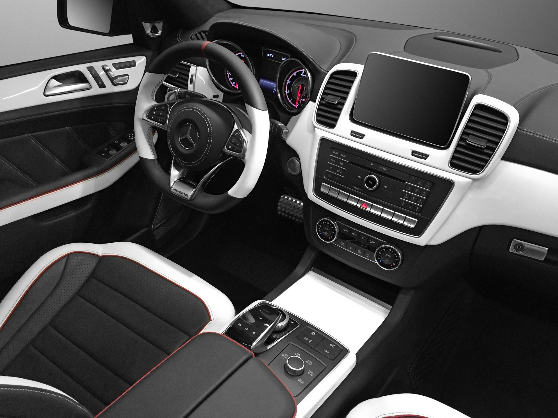 black white gle coupe interior topcar. Black Bedroom Furniture Sets. Home Design Ideas
