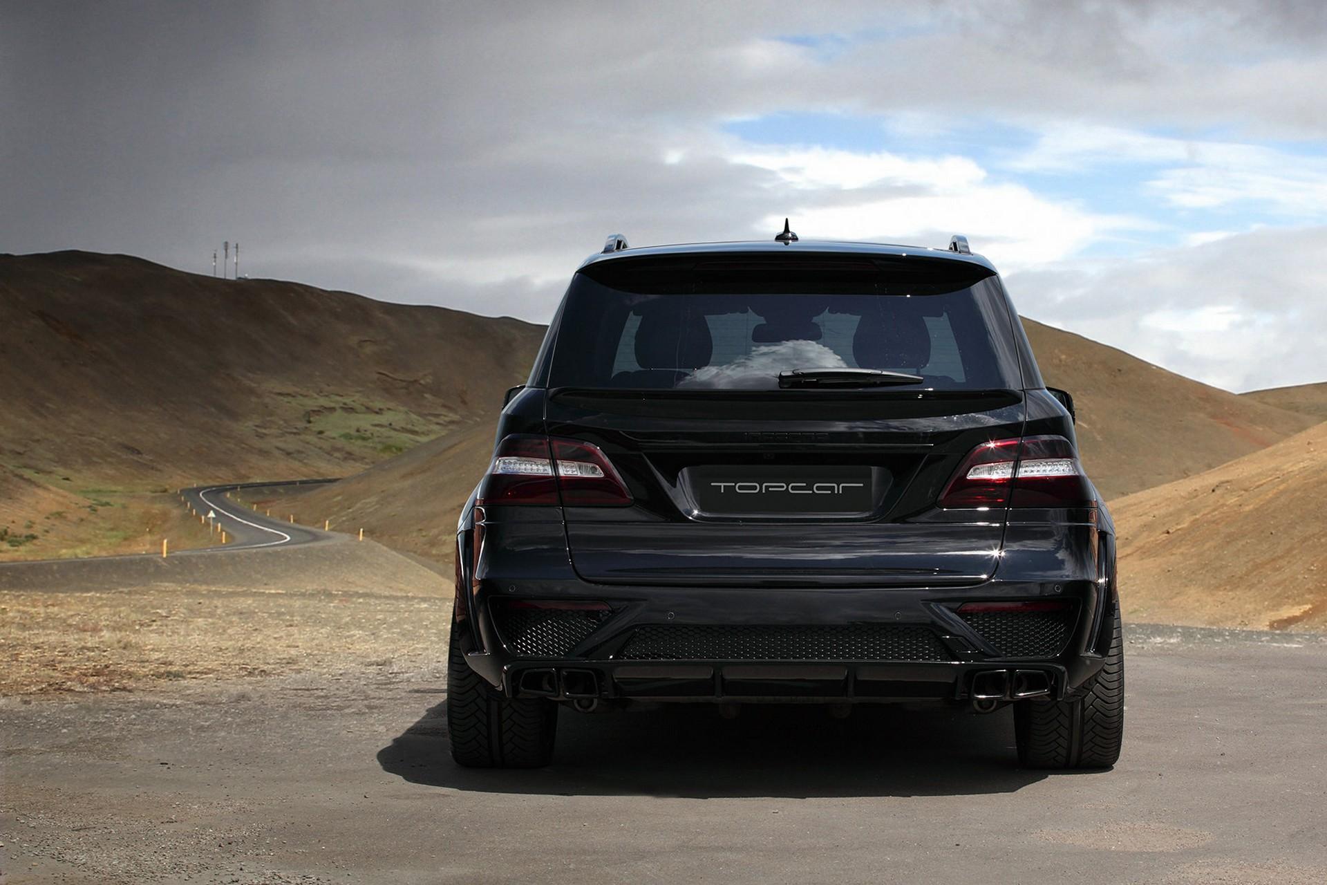 Mercedes Benz ML 6.3 AMG INFERNO Black.