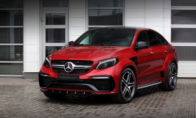 Mercedes-Benz GLE Coupe 450 INFERNO Red