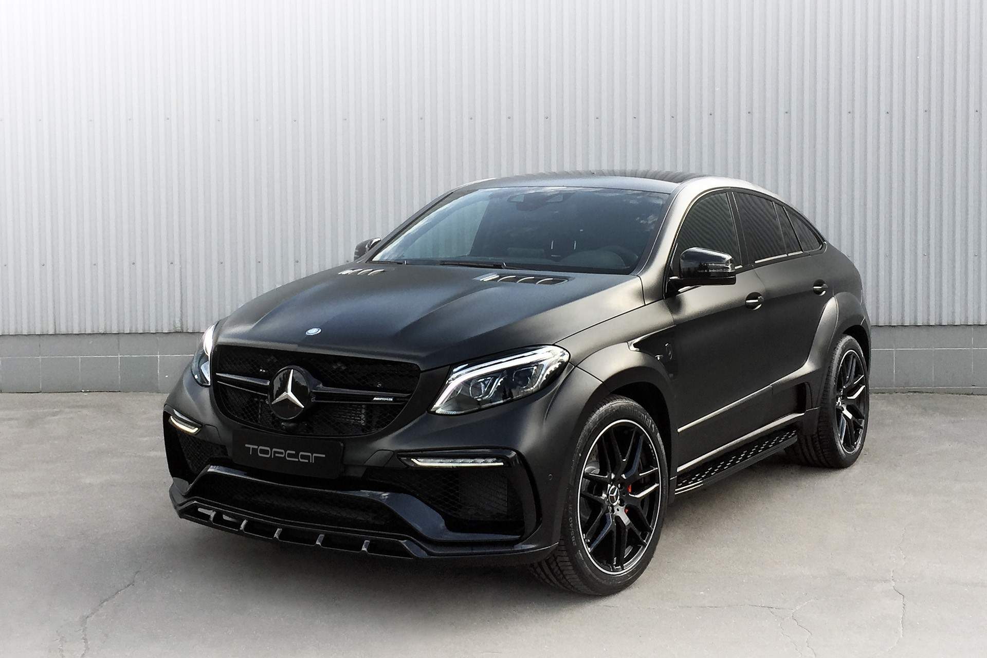 Mercedes Benz Coupe >> Mercedes-AMG GLE COUPE 63 INFERNO / TopCar